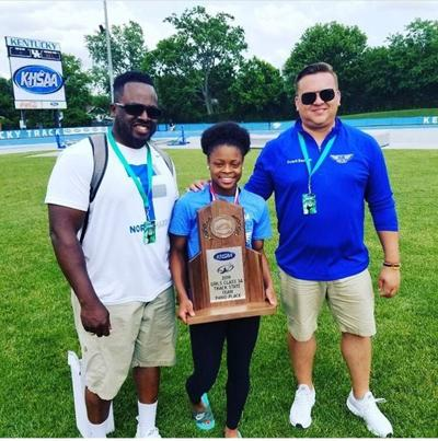ALL-AREA TRACK GIRLS' COACH OF THE YEAR: North Hardin's Jackson captures award