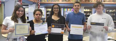 Students earn hundreds of industry certifications