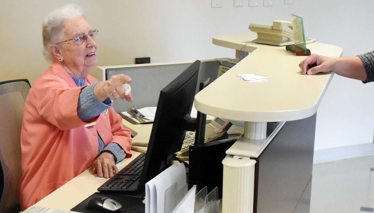 Carr, 90, still going strong as hospital volunteer