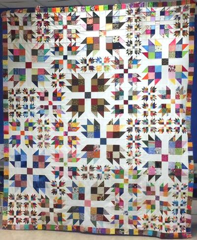 Stitchers' event grows with 500 quilts at show