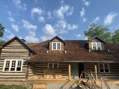 Renovations near completion of Lincoln Knob Creek property