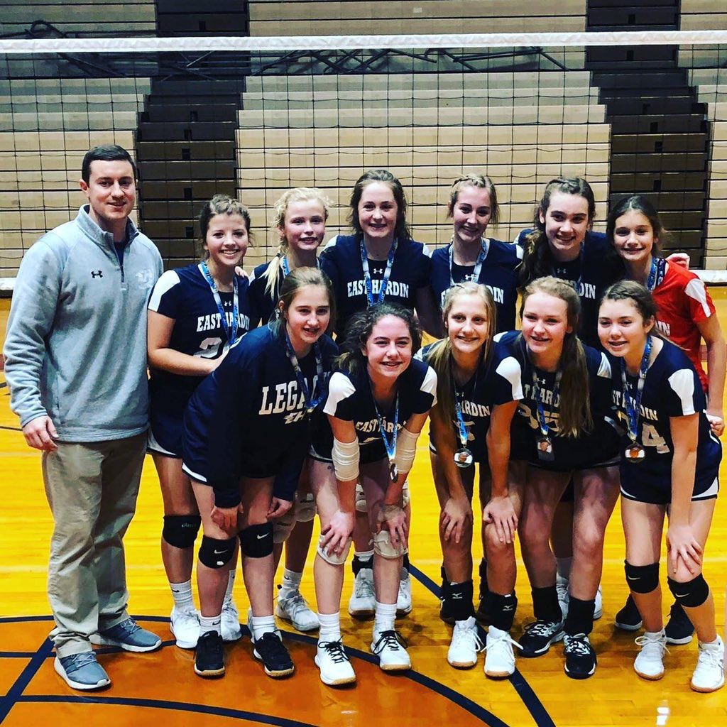 Middle School Volleyball East Hardin Seventh And Eighth Grade Teams Crowned Conference Champions Sports Thenewsenterprise Com
