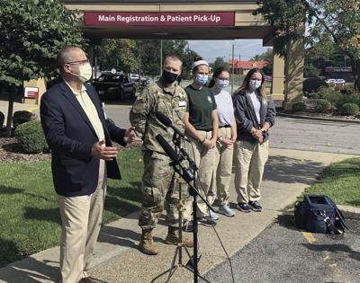 National Guard, AmeriCorps begin hospital work