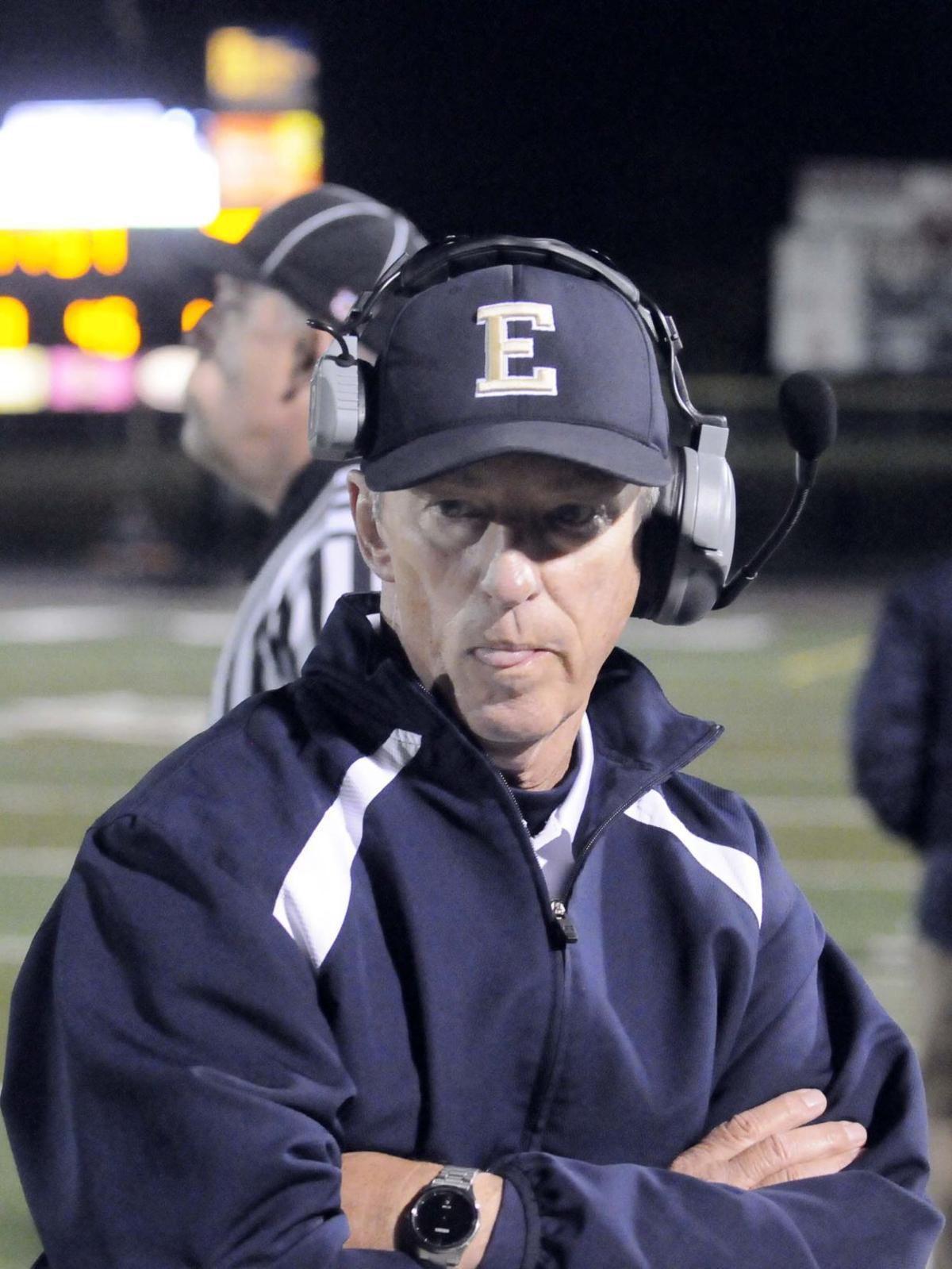 End of an era: Veteran football coach Mark Brown retires as E'town's coach