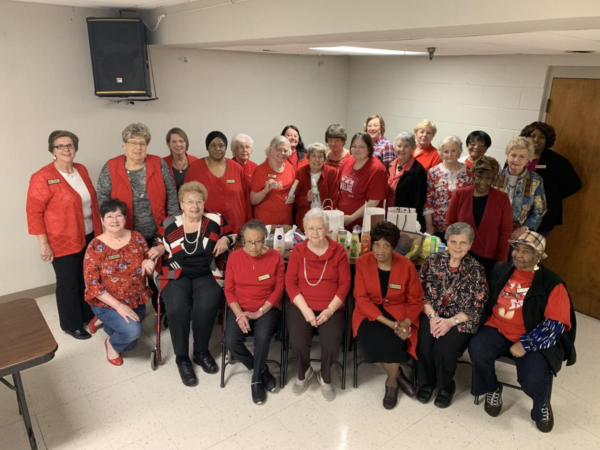 Radcliff Woman's Club members gather for May meeting