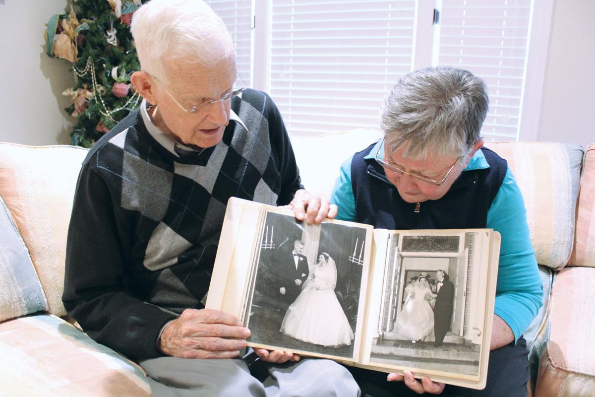 Valentines celebrating 63rd wedding anniversary