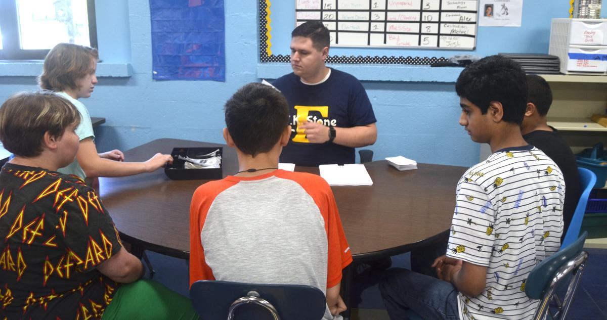Students begin first day conversations at Elizabethtown