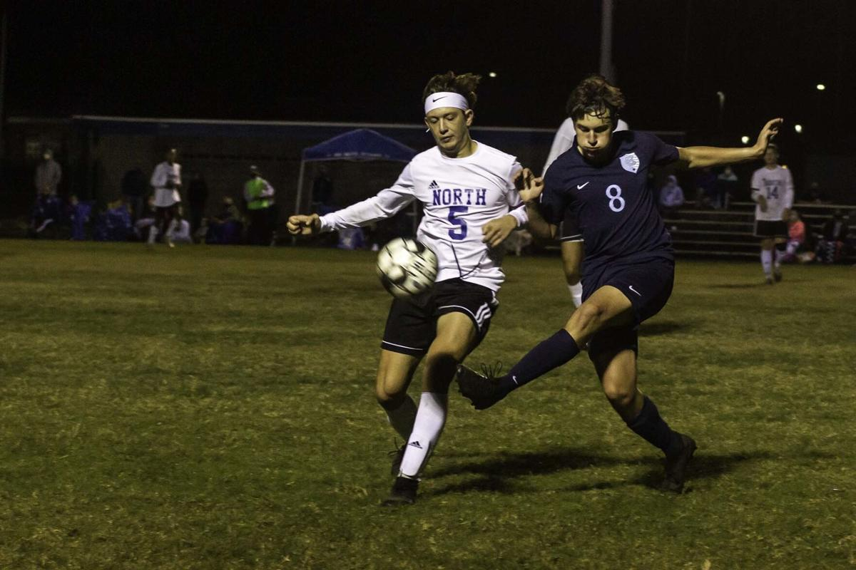 BOYS' PREP SOCCER: Central capitalizes in win over North