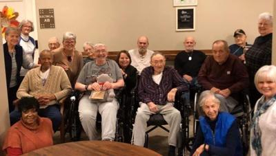 Cecilia Homemakers visit local veterans