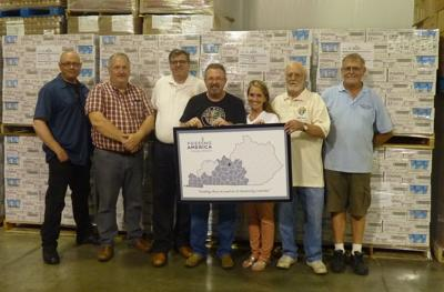 Knights of Columbus members continue support of Feeding America