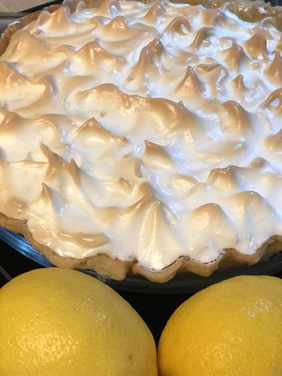 Zesty lemon makes for delicious pie