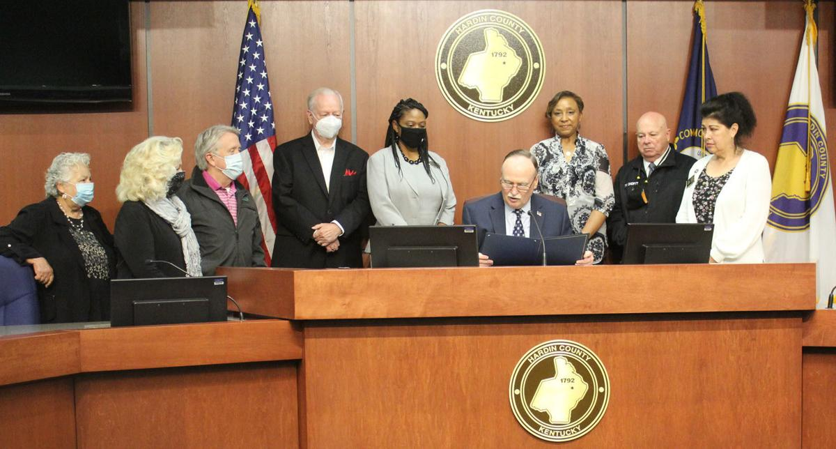 Berry proclaims this week Small Business Week in Hardin County