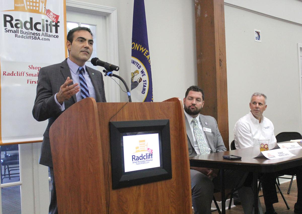 Small business owners given financial advice at luncheon