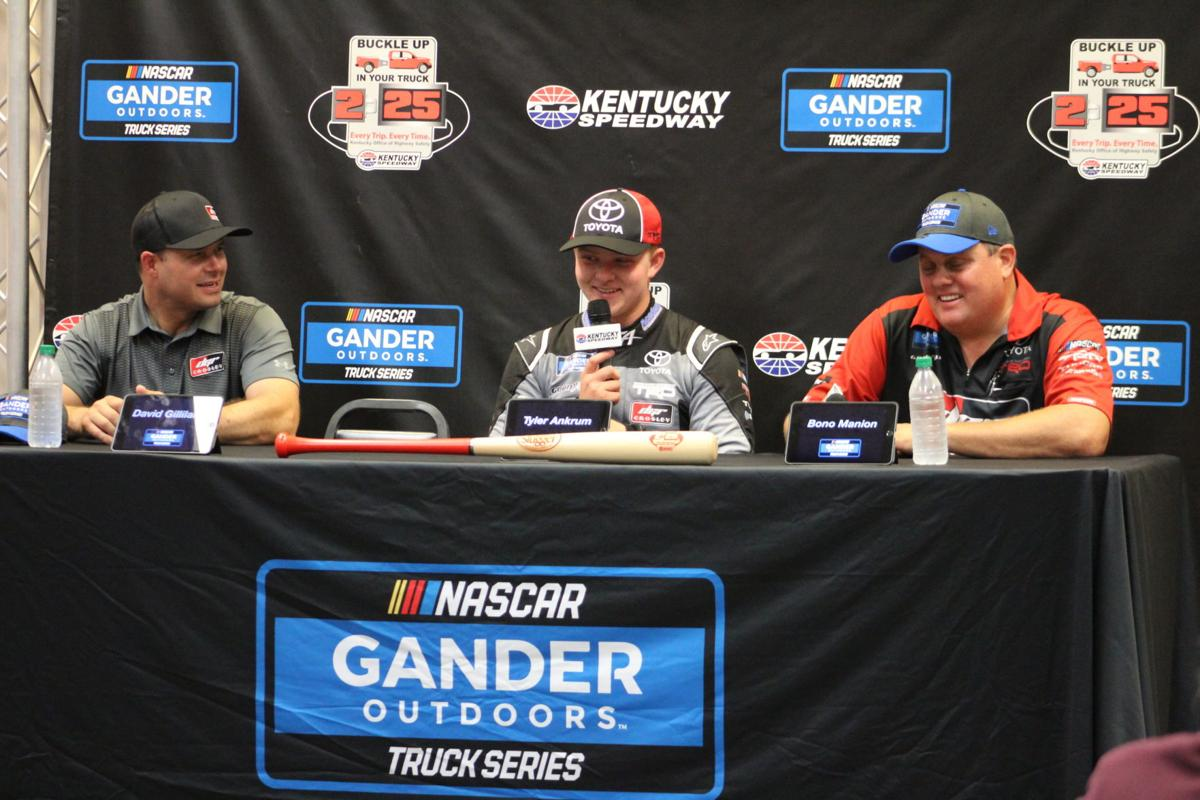 NASCAR: Ankrum races to first Truck win