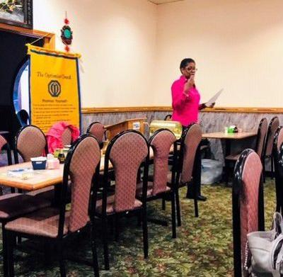Optimist Club of Radcliff members play and plan for club year