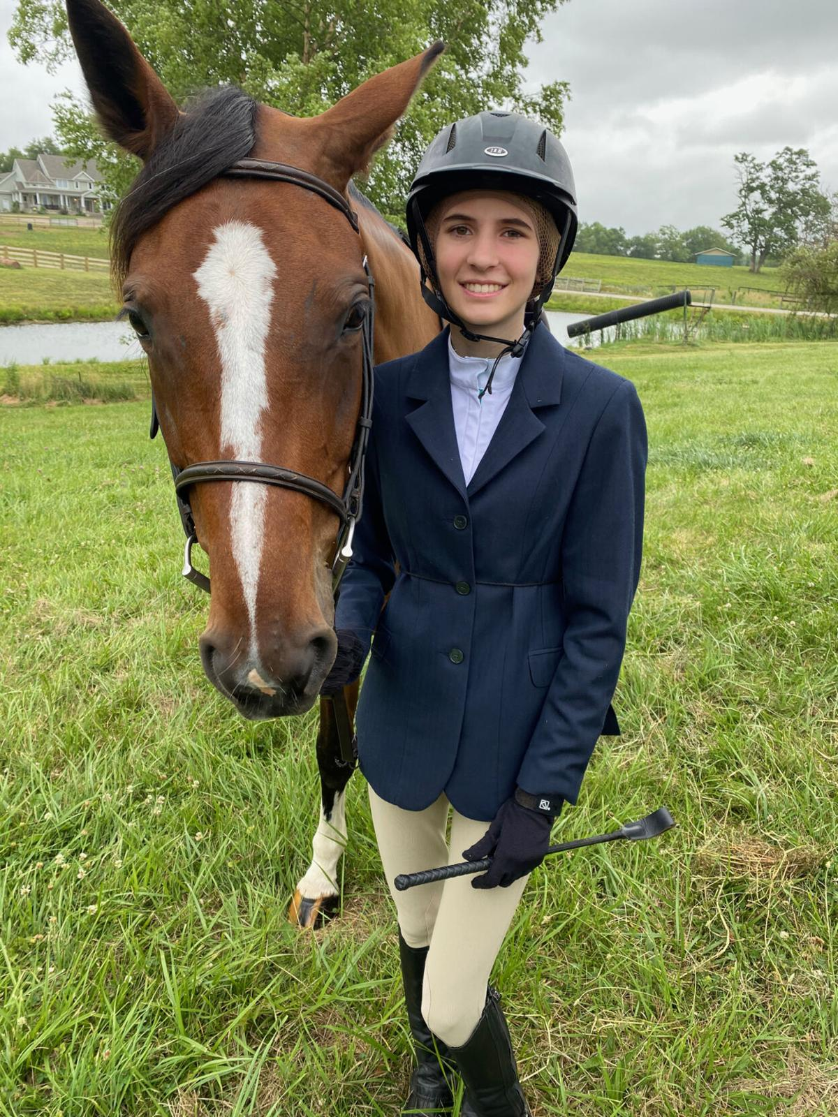 In equestrian competitions, E'town girl jumps to victory