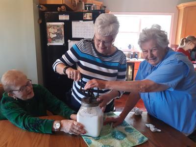 RobinBrooke residents 'break bread together'