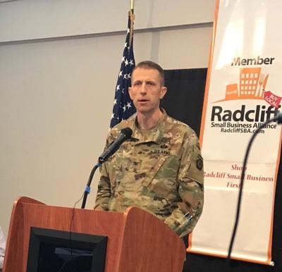 RSBA hosts V Corps colonel