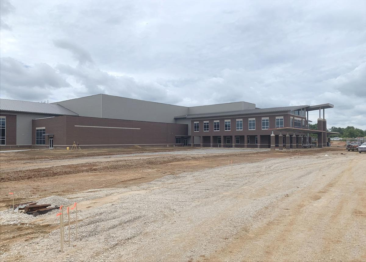 New East Hardin school building coming together