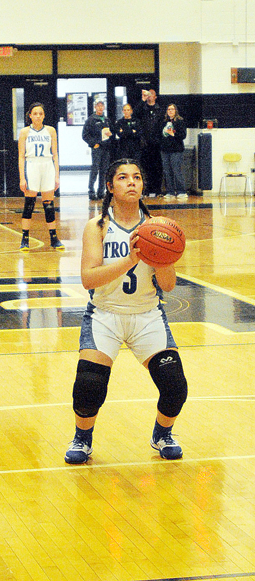 HALL OF FAME CLASSIC: It wasn't pretty, but Lady Trojans get to 3-0