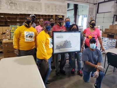 Buffalo Soldiers, Bluegrass Sergeants Major members volunteer