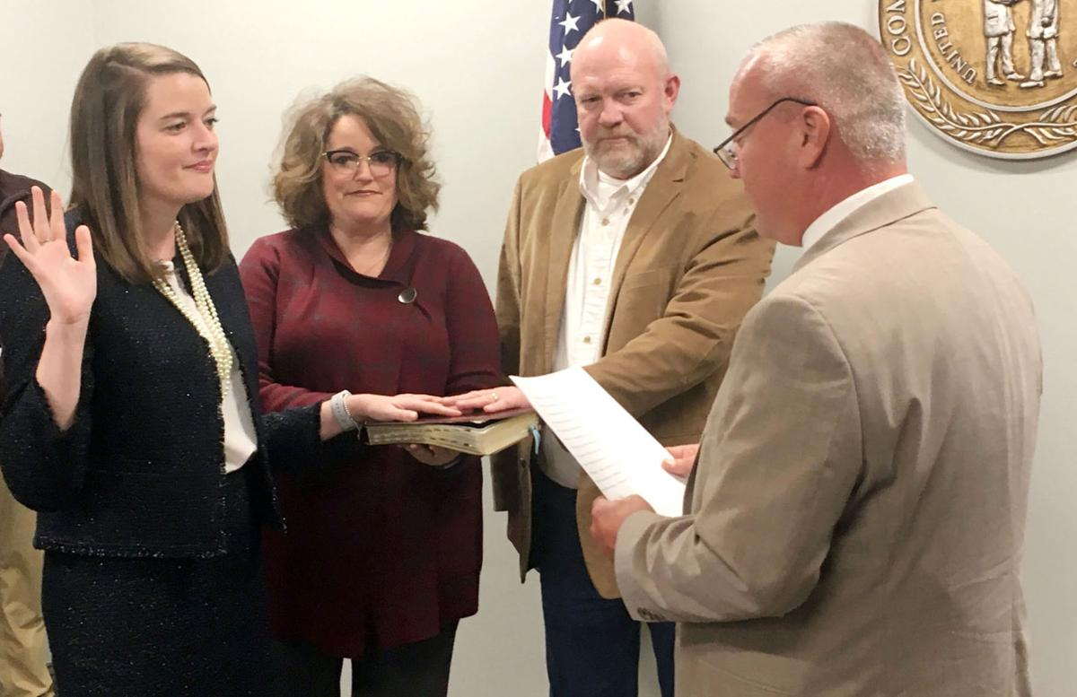 Heavrin takes oath as state rep