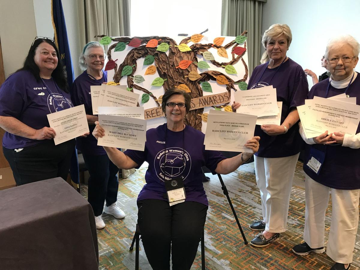 Radcliff Woman's Club members attend state convention