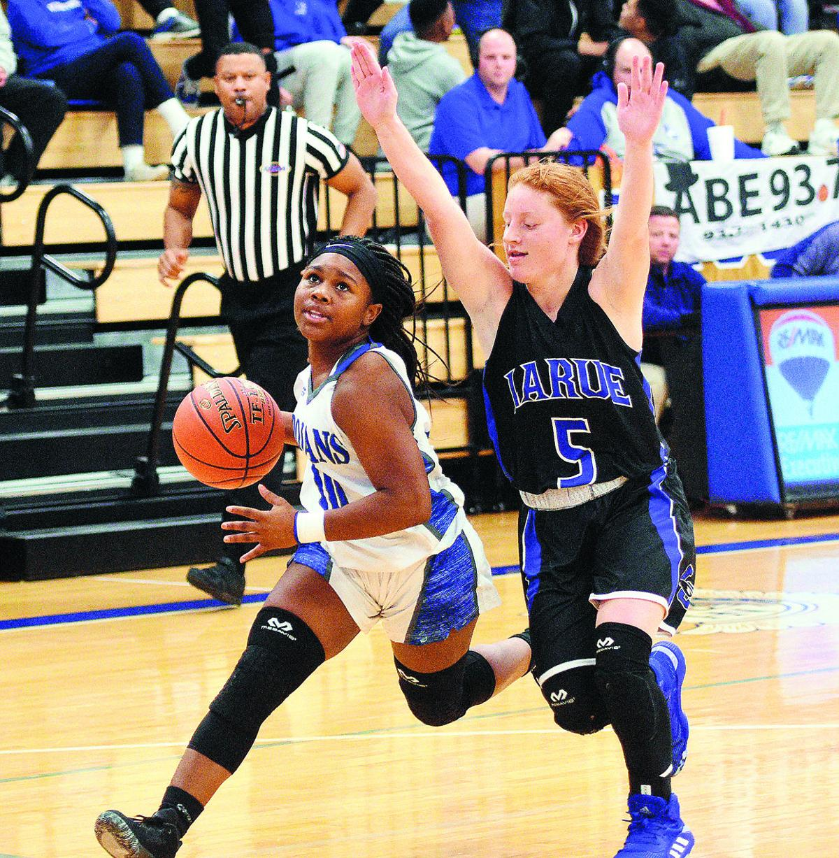GIRLS' BASKETBALL: North topples LaRue