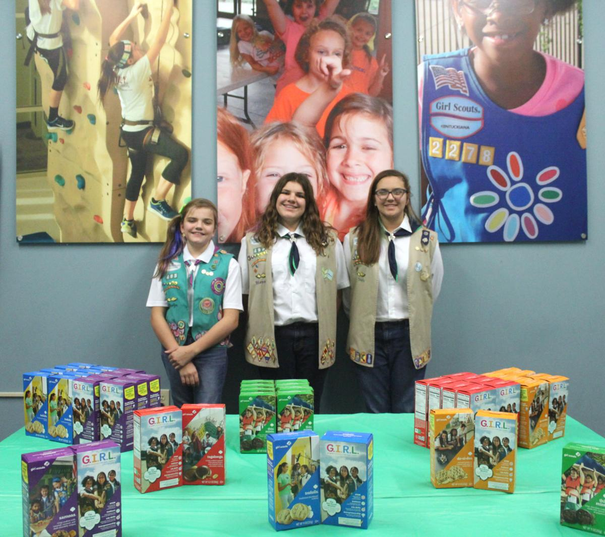 Cookie season helps empower local Scouts