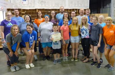 Parkway Baptist Church recognized by Feeding America