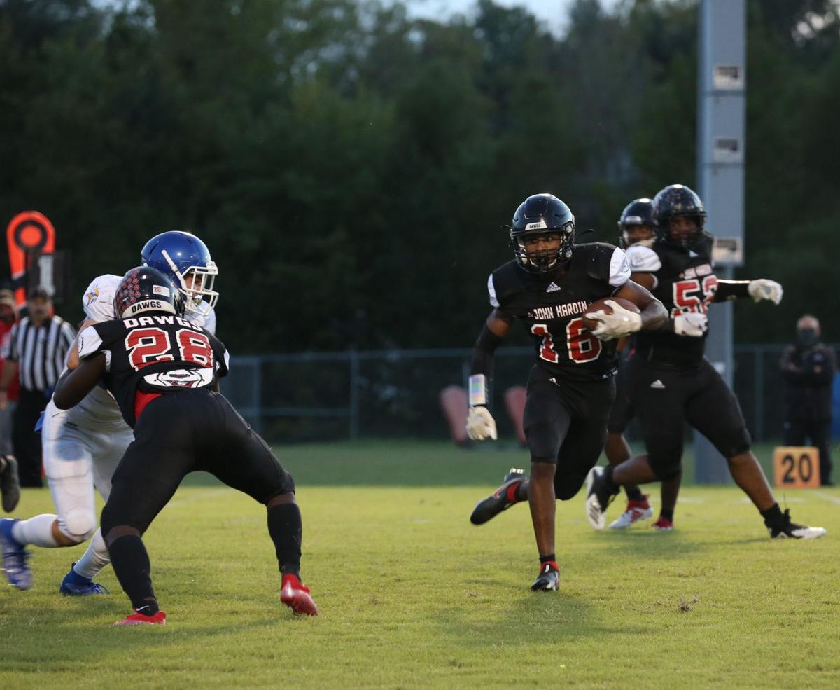FOOTBALL ROUNDUP: North downed by Boyle, John, Central, E'town win big