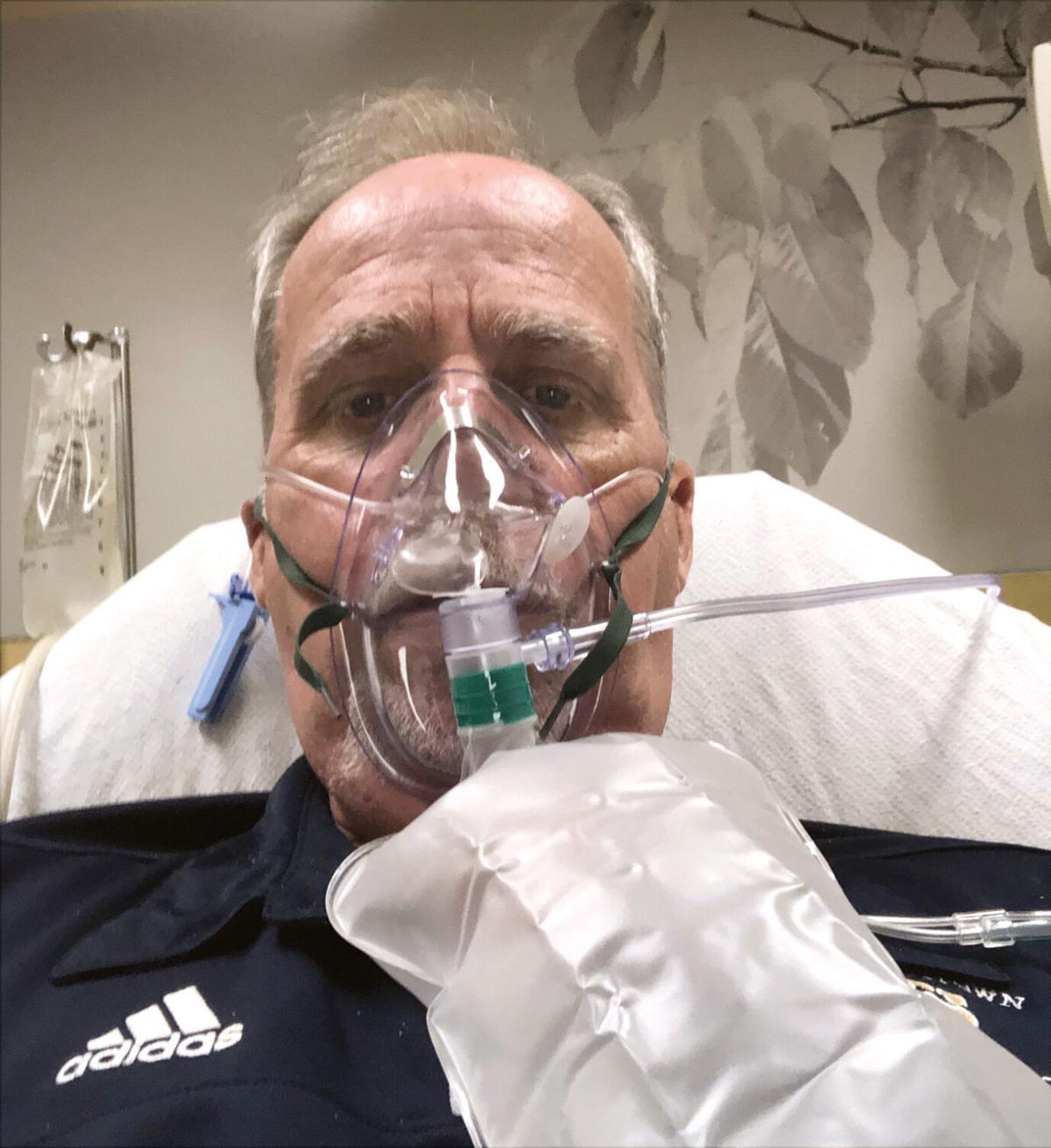 E'town man recovers from COVID, touts convalescent plasma