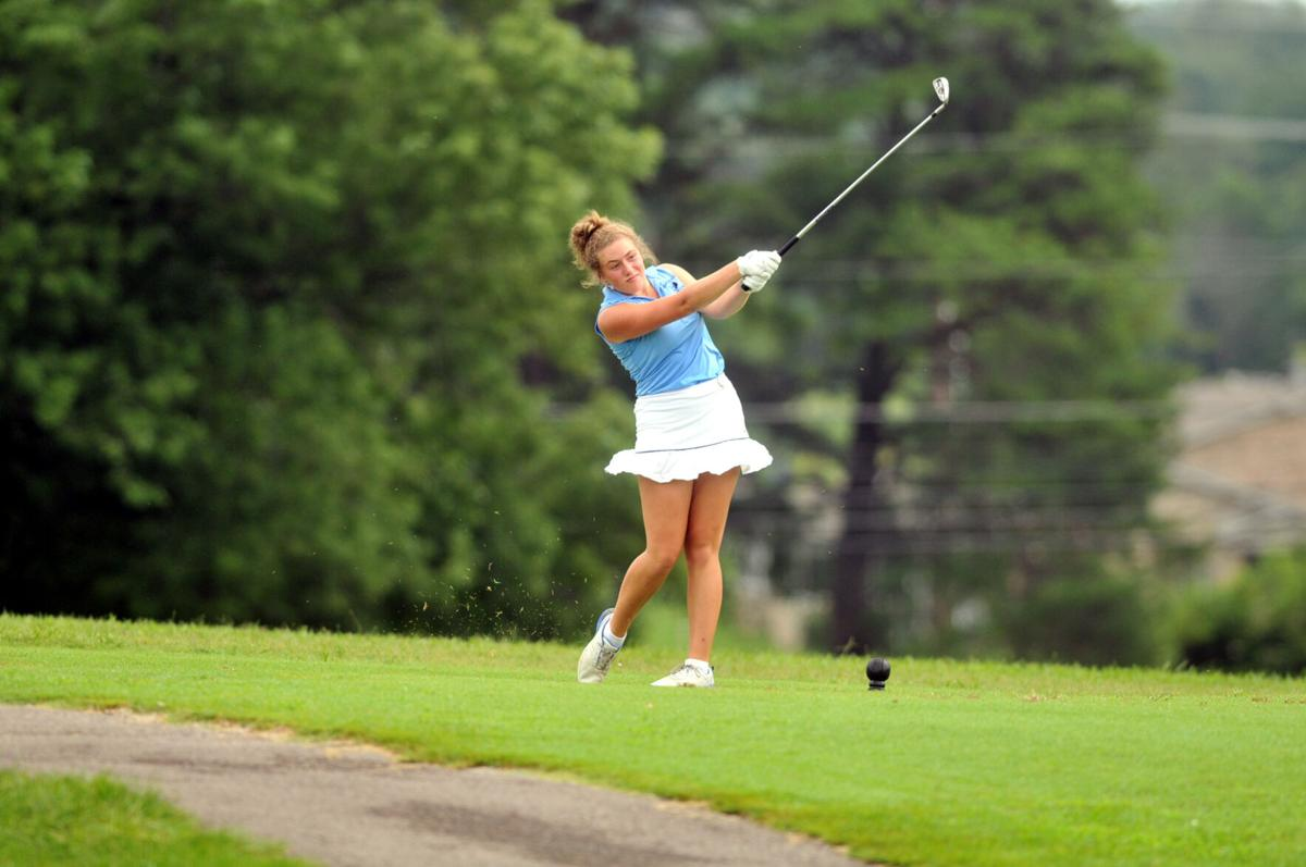 PREP GOLF: THE NEXT STEP: Central Hardin's Paige Gray finally broke her magic number thanks to attitude change