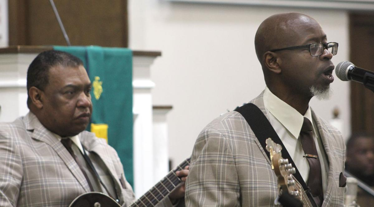 Attendees 'feel the love' at annual gospel event