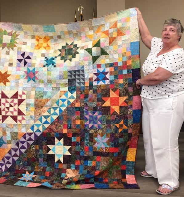 Stitchers Quilt Guild members prepare for annual quilt show