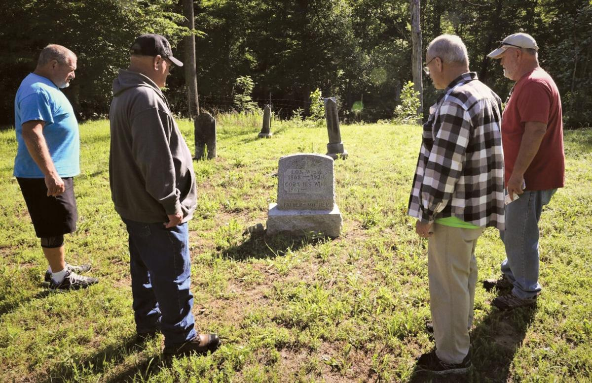 Brothers make first Memorial Day visit to Fort Knox family cemetery
