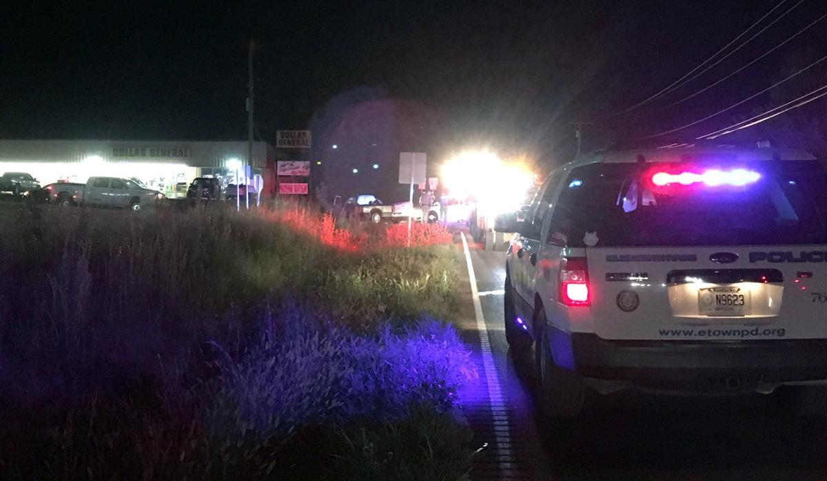 EPD officer involved in wreck in Rineyville