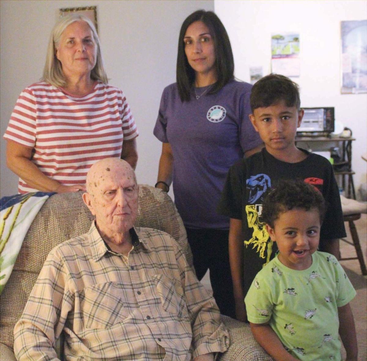 Hardin County veteran celebrates his 100th birthday