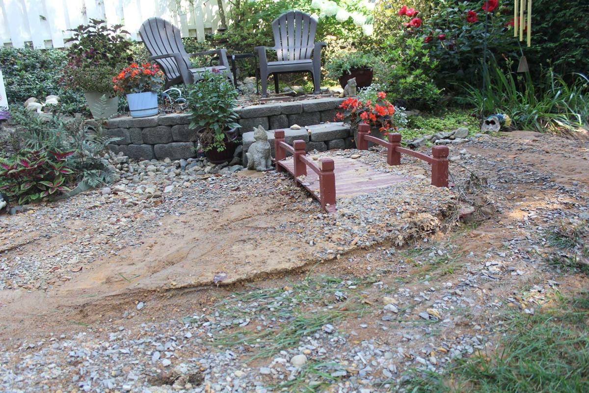 Water main leak causes problem for resident