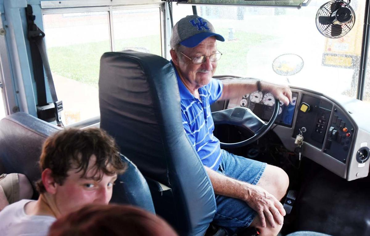 Bus driver finds bond with West Point students