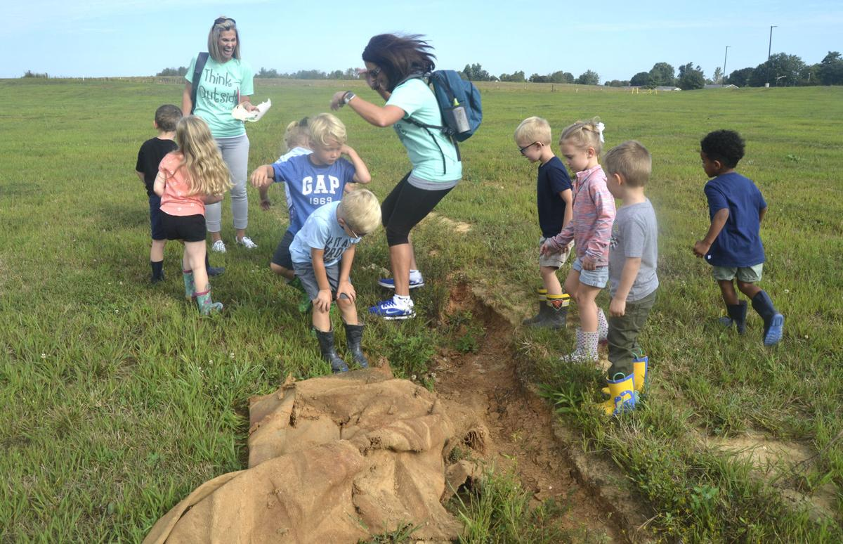 Outdoor classroom combines learning of nature, science