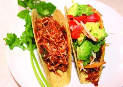 8/18 taste- kitchen adventures - Chicken tacos