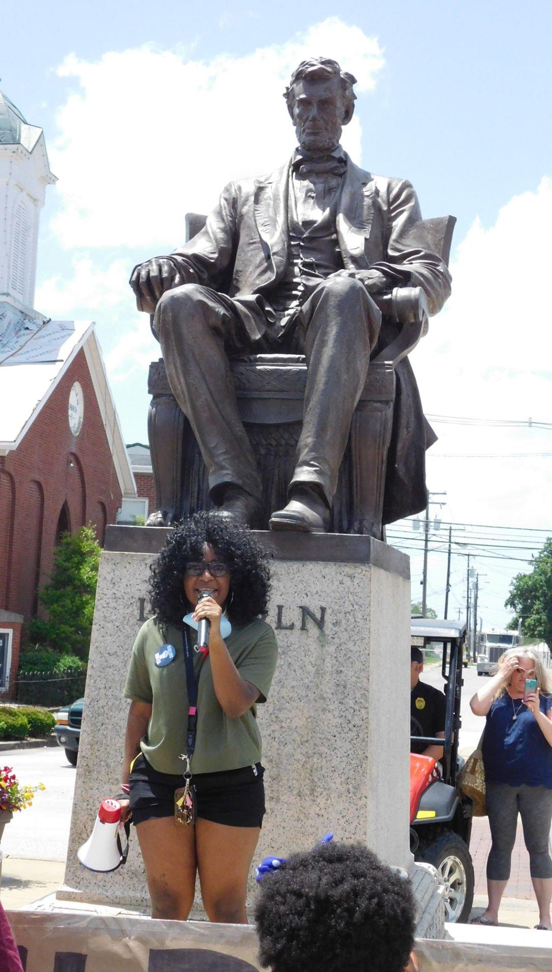 Black Lives Matter marches through Hodgenville