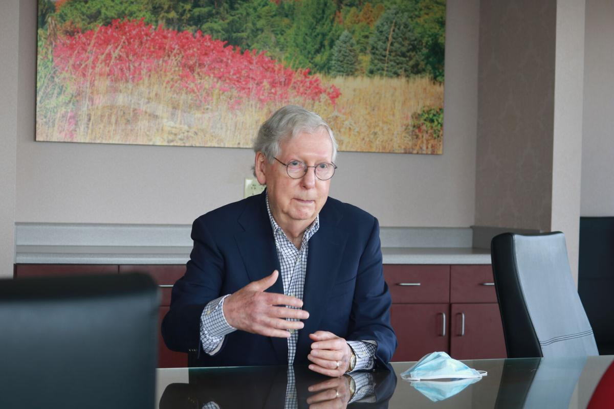 McConnell makes stop at Baptist Health