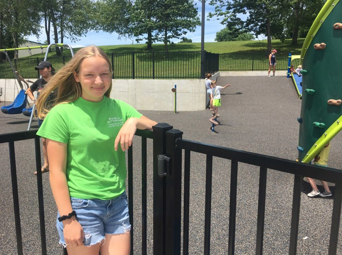 Vine Grove splash pad is Rachel Ritchie's new project
