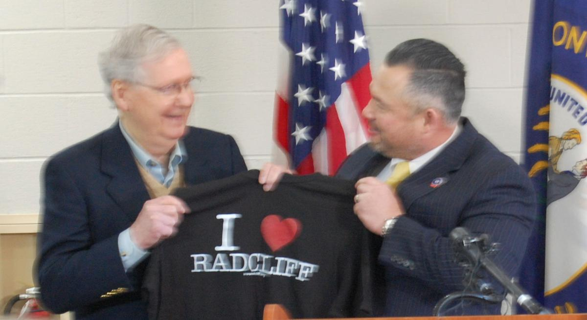 McConnell celebrates U.S. Army announcement in Radcliff