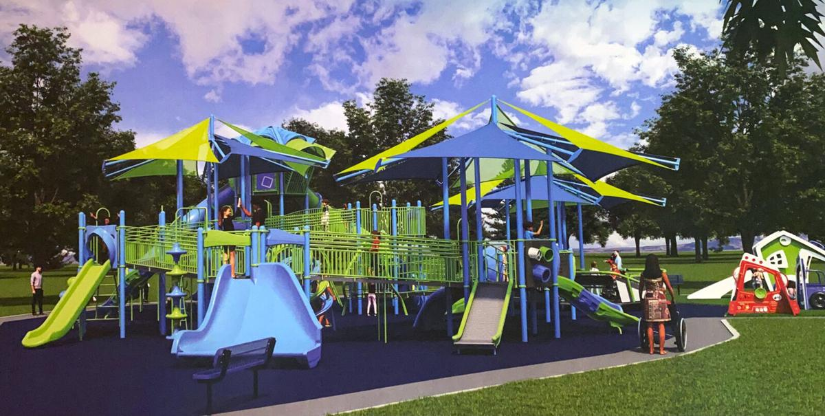 Colorful new Funtopia design unveiled at E'town council meeting