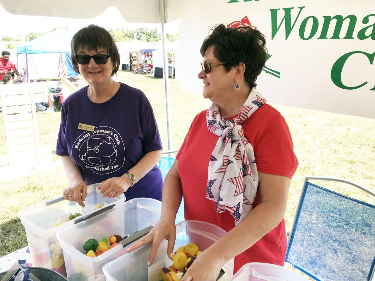 Radcliff Woman's Club members participate in cultural festival