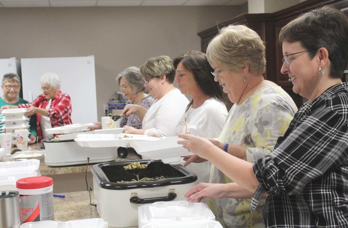 Gift of giving: Church provides for community through free meal