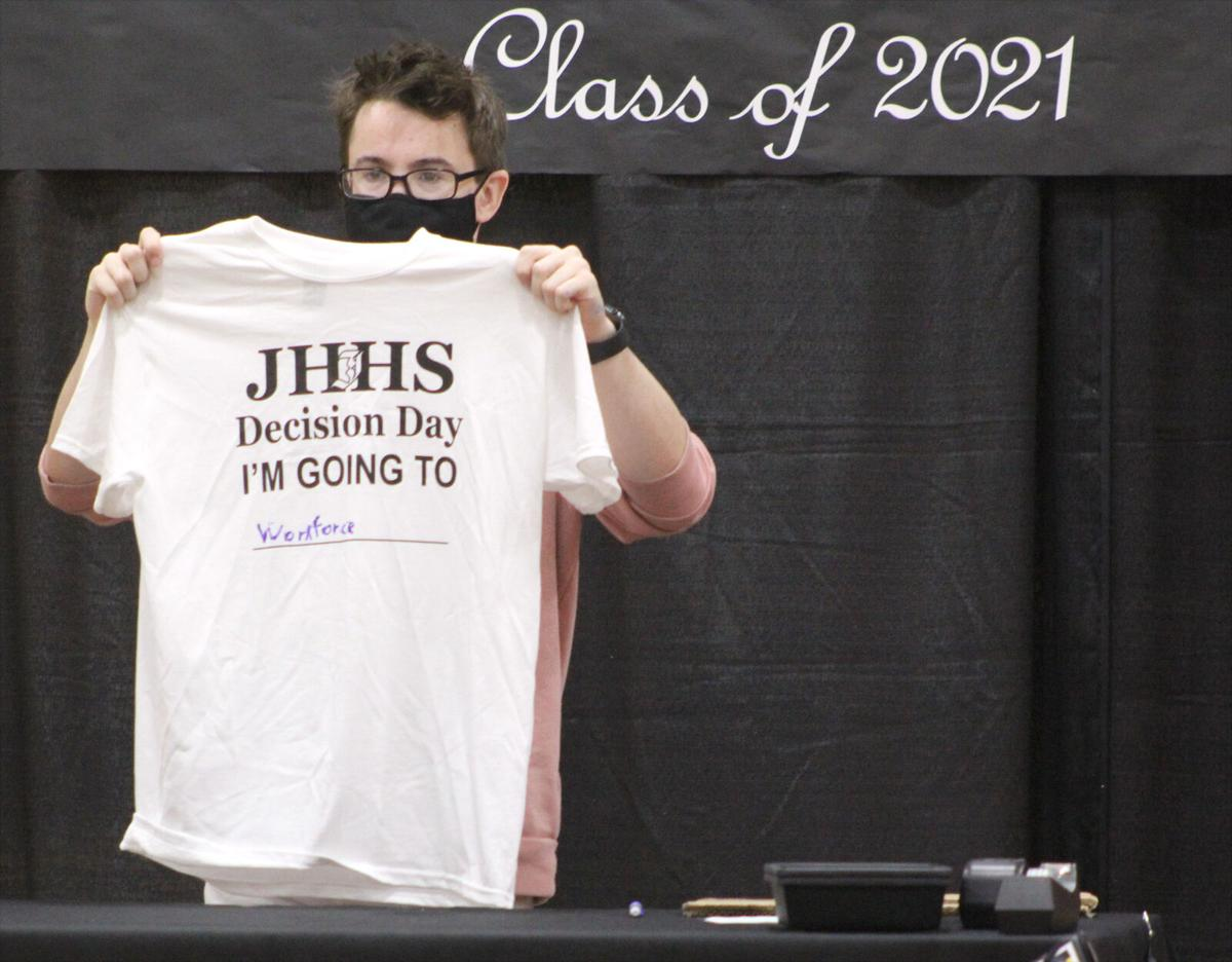 JHHS celebrates students' choices after graduation